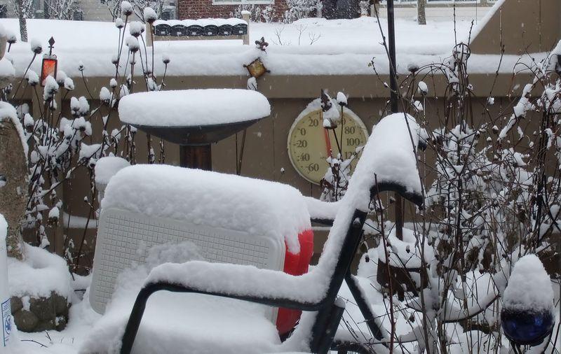 PATIO WINTER SNOW 2010