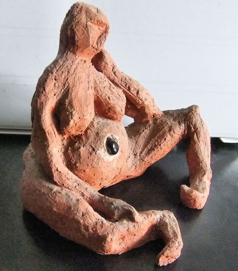 SCULPTURE OF SELF - MADE IN HS
